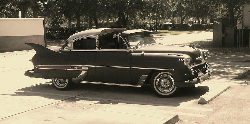 1953 Chevy Belair Custom old style photo