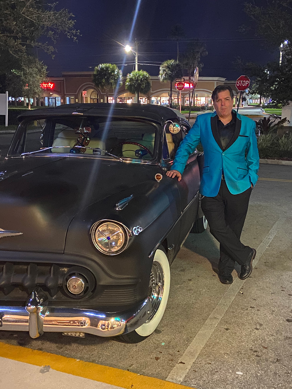 New Year's Eve 2020, 53 Chevy Custom with Chris Pinto