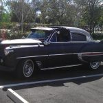 1953 Chevy Belair Custom out on the town
