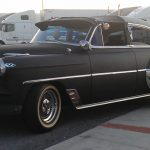1953 Chevy Belair Custom out on the town 595 Truck Stop Florida
