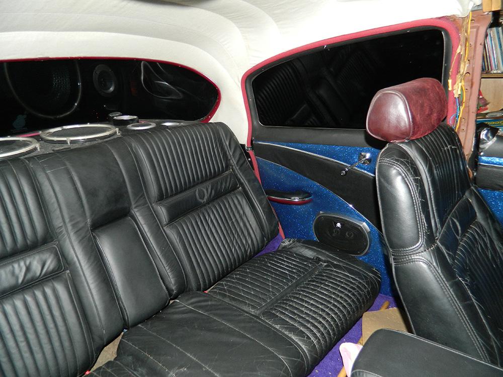 1953 Chevy Belair Custom interior