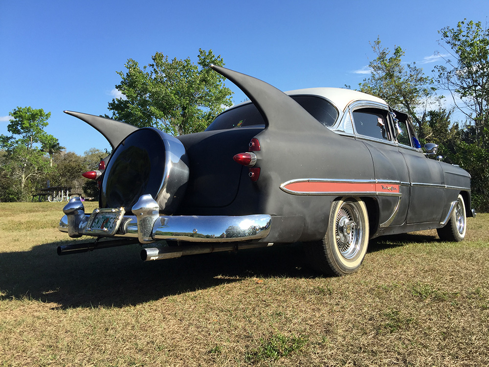 1953 Chevy Belair Custom hot rod at the park