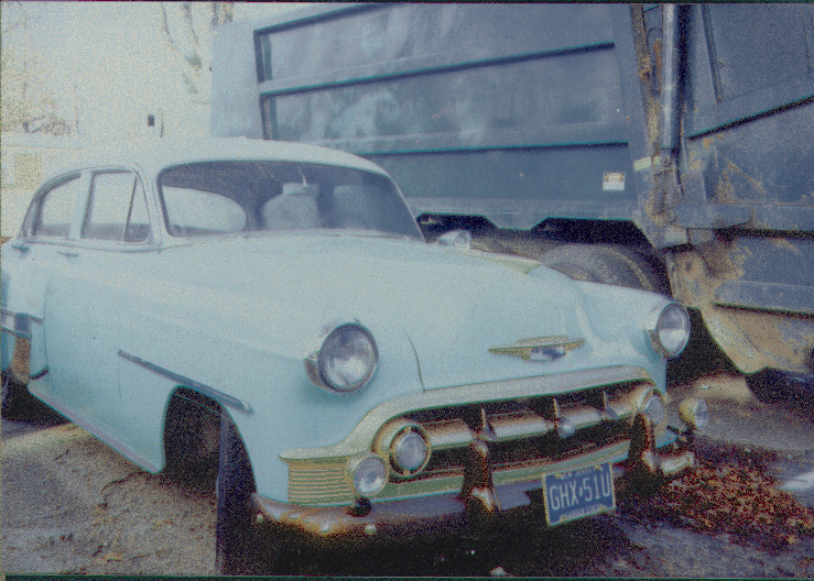 53 Chevy painted, early 90s