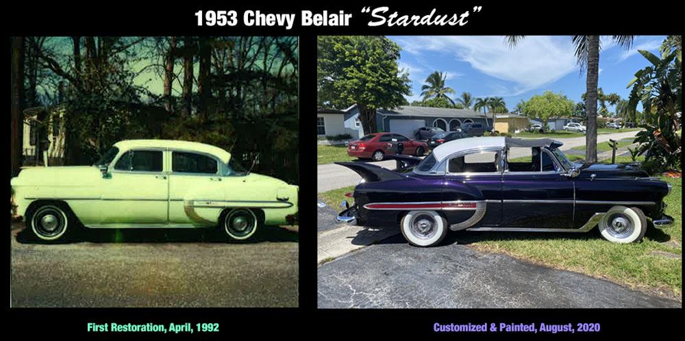 1953 Chevy Belair custom hot rod