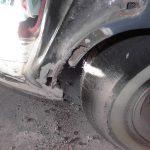 53 Chevy door jamb rotted