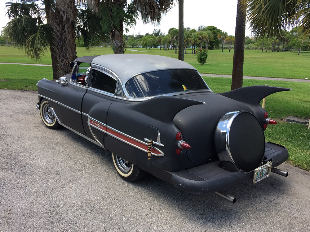 1953 Chevy Belair Custom out on the town at the park