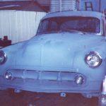 53 Chevy Bel Air in primer