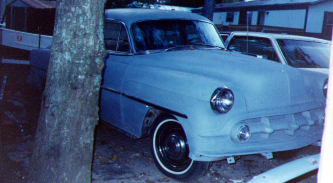 53 Chevy in primer, early 90s