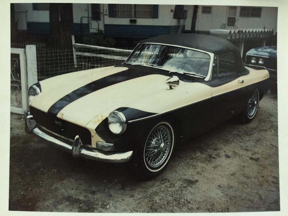 1960s MG sportster