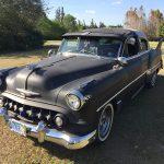 53 Chevy Hot Rod Custom at Tree Tops Park in South Florida