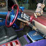 "interior sunrise florida 2017 Florida 53 Chevy Custom Belair Hotrod ""Stardust"" Fins before gloss paint job tr"