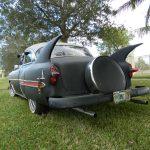 "continental kit sunrise florida 2017 Florida 53 Chevy Custom Belair Hotrod ""Stardust"" Fins before gloss paint job tr"