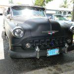 "53 Chevy Custom Belair Hotrod ""Stardust"" Fins before gloss paint job"