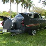 "2012 53 Chevy Custom Belair Hotrod ""Stardust"" Fins before gloss paint job"