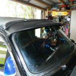 "custom sunvisor closeup fenton headers clifford 53 Chevy Custom Belair Hotrod ""Stardust"" Fins before gloss paint job"