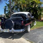 """1953 Chevy Hot Rod Custom Belair """"Stardust"""" tail fins in the sun"""
