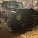 "sunrise florida 2020 Florida 53 Chevy Custom Belair Hotrod ""Stardust"" Fins getting painted"