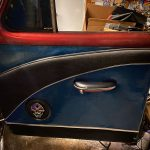 1953 Chevy Belair Custom Hot Rod Cadillac door panel