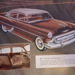 1953 Chevy sales brochure photo two ten series