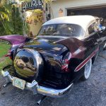 "1953 Chevy Hot Rod Custom Belair ""Stardust"" in the sun purple paint"