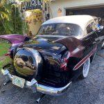 "1953 Chevy Hot Rod Custom Belair ""Stardust"" in the sun purple paint"