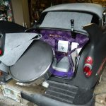 53 Chevy custom trunk