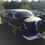 "tree tops park florida 2017 Florida 53 Chevy Custom Belair Hotrod ""Stardust"" Fins before gloss paint job tr"