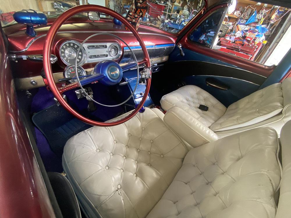 53 Chevy New Interior Feb 2021
