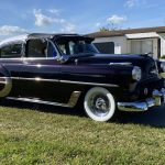 53 Chevy Custom Belair in the Sun, March 2021, front passenger side
