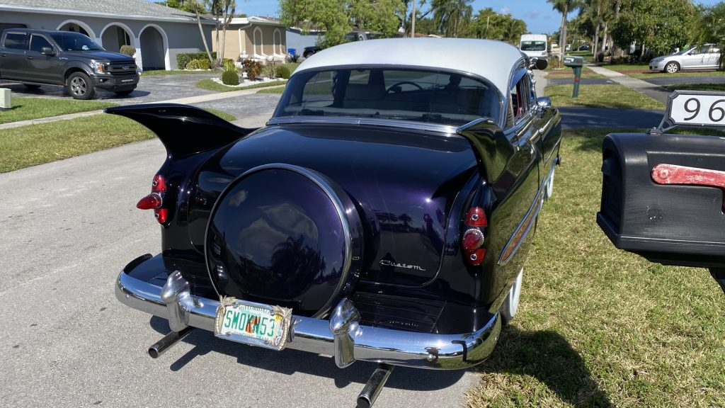 53 Chevy Custom Fins Exterior continental kit
