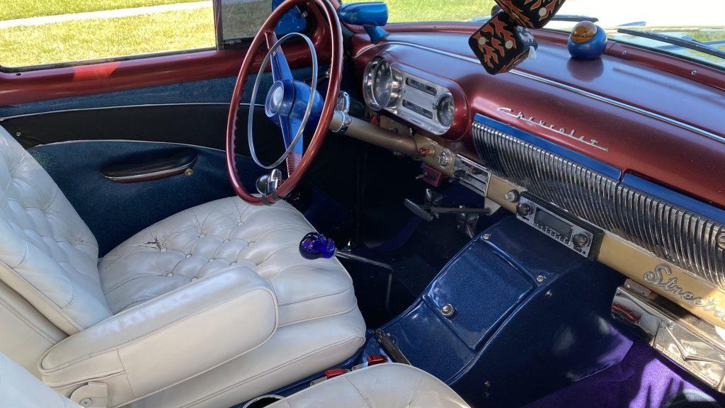 53 Chevy march 2021 interior